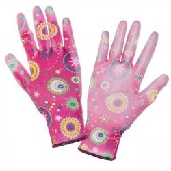 Rękawice nitrylowe różowe 7 Lahti