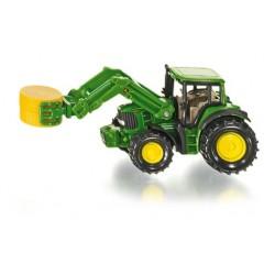 Zabawka traktor John Deere z ładowaczem /Siku/NIED