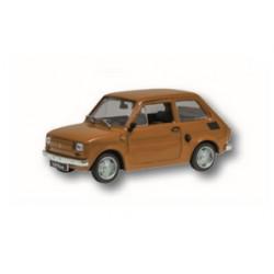 Zabawka Fiat 126P brązowy /PRL/