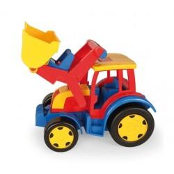 Zabawka Gigant traktor spychacz /Wader/