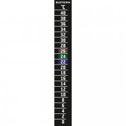 Termometr ciekłokrystaliczny 0-40 stopni