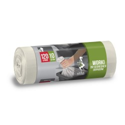 Worki na odpady 120l. białe (10szt)