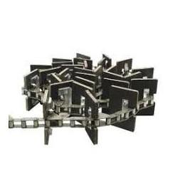 Łańcuch elewatora 38,4R/SD/J2A z łopatką 619298
