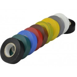 Taśma izolacyjna 19mm. 20m. kolor
