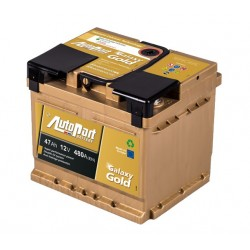 Akumulator 12V 47Ah Galaxy Gold