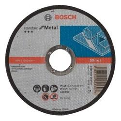 Tarcza 115 1,6*22 metal standart Bosch