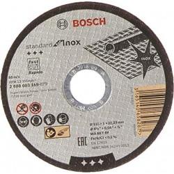 Tarcza 125 1,0*22 metal inox standart Bosch