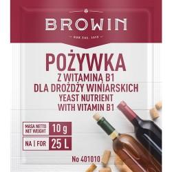 Pożywka do wina z witaminą B1 10g.