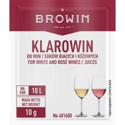 Klarowin do win białych i różowych 10g. Biowin