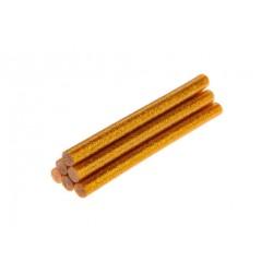 Wkłady klejowe 11mm. 6szt. brokatowe złote Topex