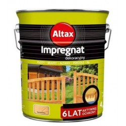 Impregnat dekoracyjny mahoń 4,5l. Altax