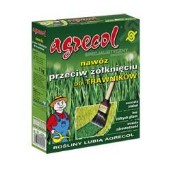 Nawóz przeciwko żółknięciu traw 1,2kg. Agrecol