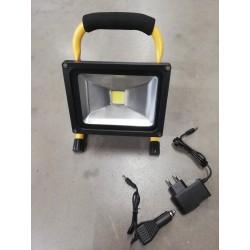 Naświetlacz LED akumulatorowy 12/230W 20W GMP