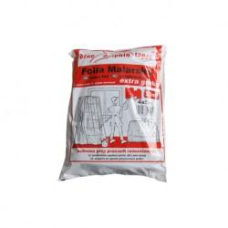 Folia malarska 4*5m. extra gruba (czerwona)