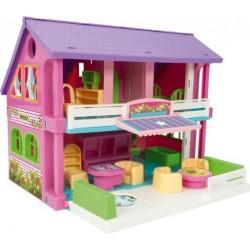 Zabawka domek dla lalek /Wader/