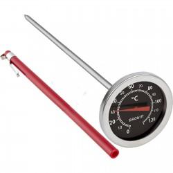 Termometr do wędzarni 0-120C 200mm.