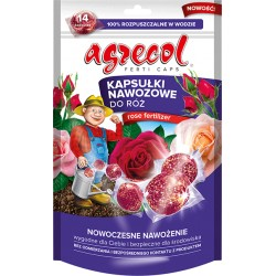 Kapsułki nawozowe róża 14 szt. Agrecol