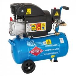 Kompresor olejowy 24l. 1-tłokowy Aipress