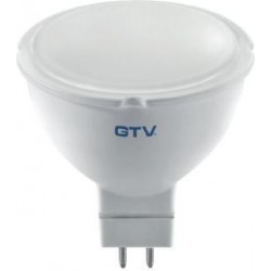 Żarówka LED MR16 4W 12V biała ciepła GTV