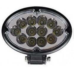 Lampa robocza LED 9-32V 36W 3450lm elipsa św.skup.