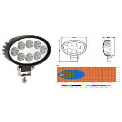 Lampa robocza LED 9-32V 24W elipsa