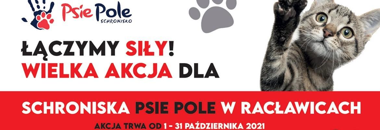 Zbiórka dla Schroniska Psie Pole w Racławicach